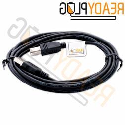 10ft ReadyPlug USB Cable for Pantum P2502W Wireless Monochro