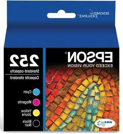Epson T252120-BCS DURABrite Ultra Black & Color Combo Pack S