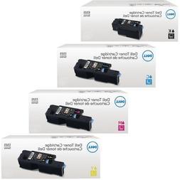 Genuine Dell E525W Toner Set For Dell E525W Color Laser All-