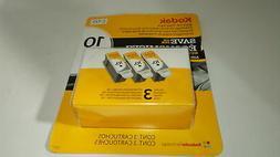 Kodak 10 Series Black Ink Cartridge - 3 Pack