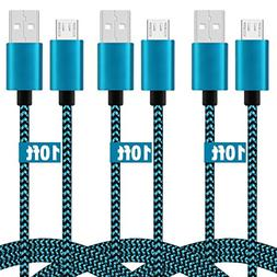 Android Charging Cable 10FT,High Speed Micro USB Charger Cor