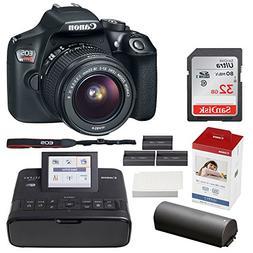 Canon EOS Rebel T6 Digital SLR Camera + EF-S 18-55mm Lens +