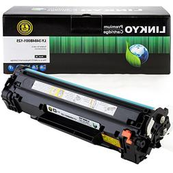 LINKYO Compatible Toner Cartridge Replacement for Canon 125