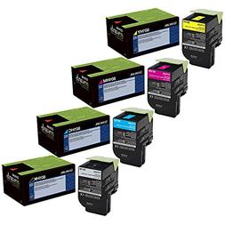 Lexmark CX410de High Yield Toner Cartridge Set
