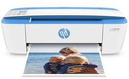 HP DeskJet 3755 Compact All-in-One Wireless Printer, Blue