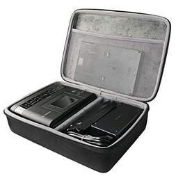 Hard Travel Case for Canon Selphy CP1200 / CP1300 Wireless C