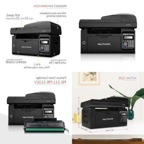4 in 1 Monochrome Laser Multifunction Printer with Copier Sc