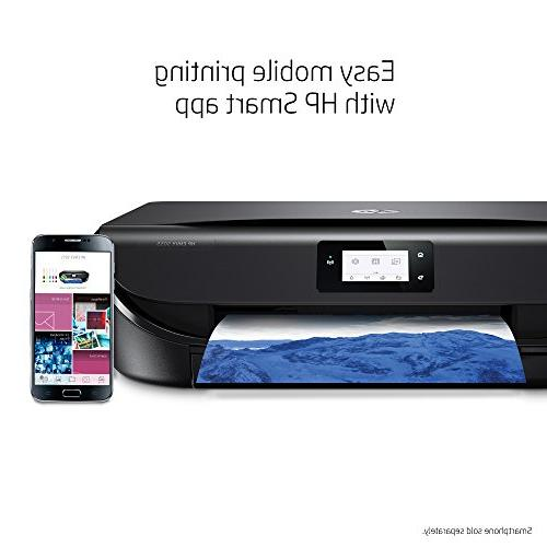 HP 5055 Wireless All-in-One Photo Printer, Instant Ink Dash