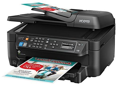 Epson WF-2750 Wireless Color Printer Copier Dash Replenishment Enabled
