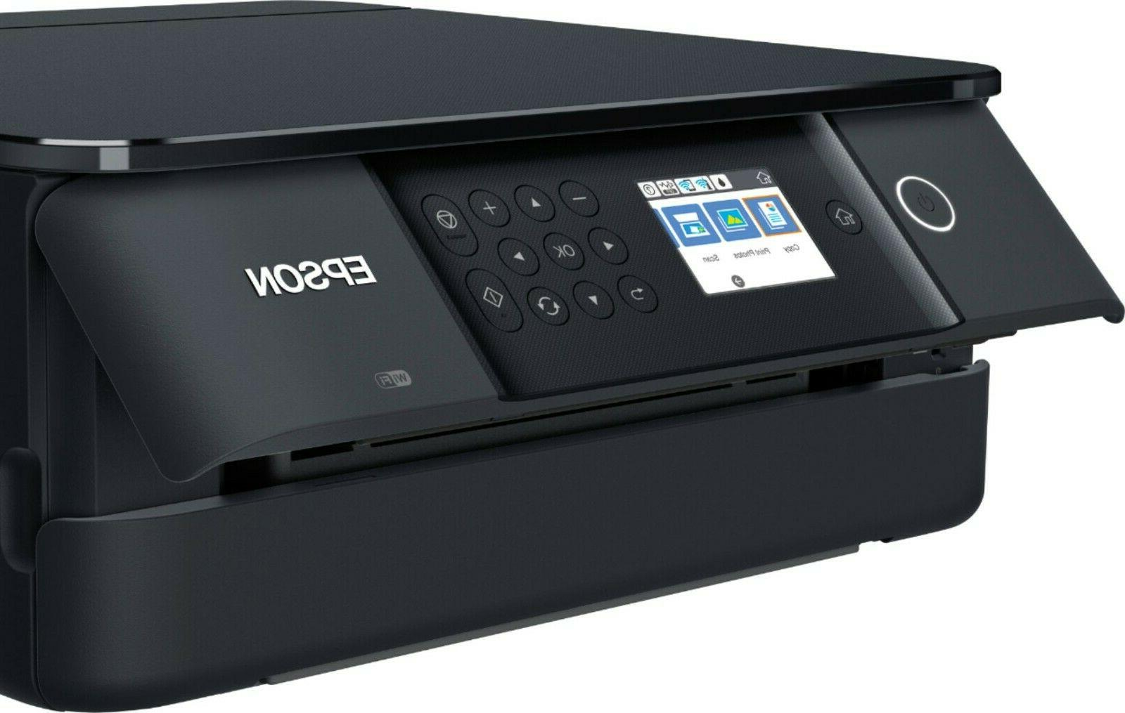 Epson Wireless Color Photo Printer Scanner