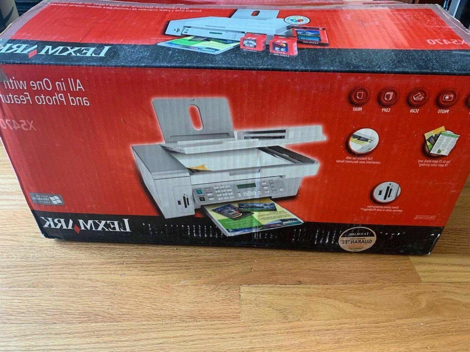 InkJet Printer Lexmark X5470 All-In-One Inkjet Printer