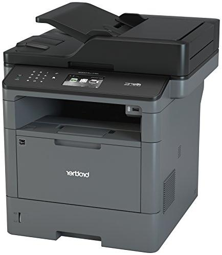 Brother Monochrome Multifunction All-in-One MFC-L5700DW, Network Connectivity, & Scanning, Duplex Amazon Dash Black