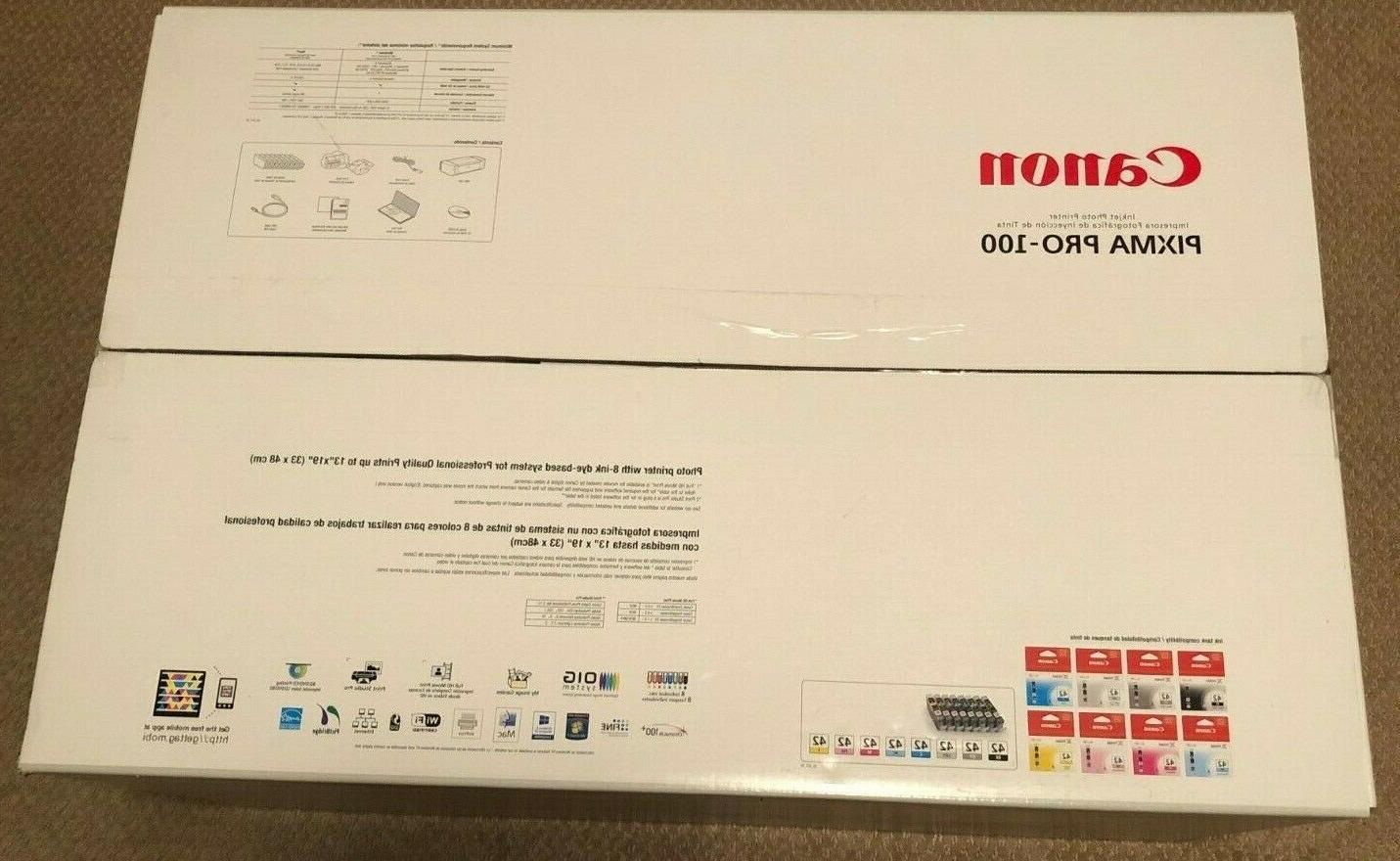 pixma pro 100 digital photo inkjet printer