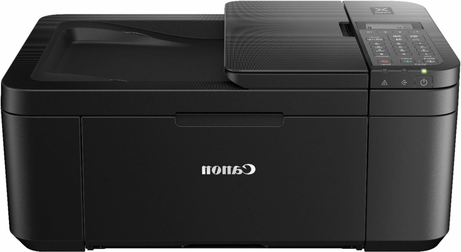 Canon TR4520 Wireless Color All-In-One Printer Scan Fax, Ink Included