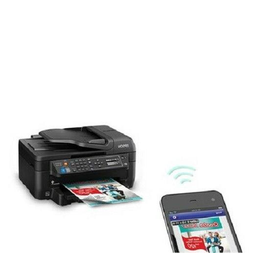 Epson Printer Machine Fax Scan Copy All-In-One Wireless