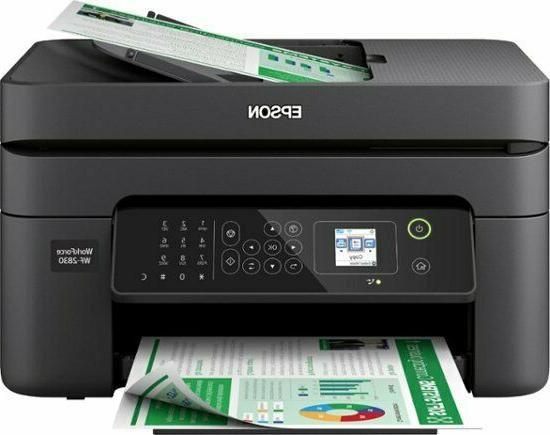 Epson WorkForce WF-2830 Printer Fax Scanner Copier All-In-On