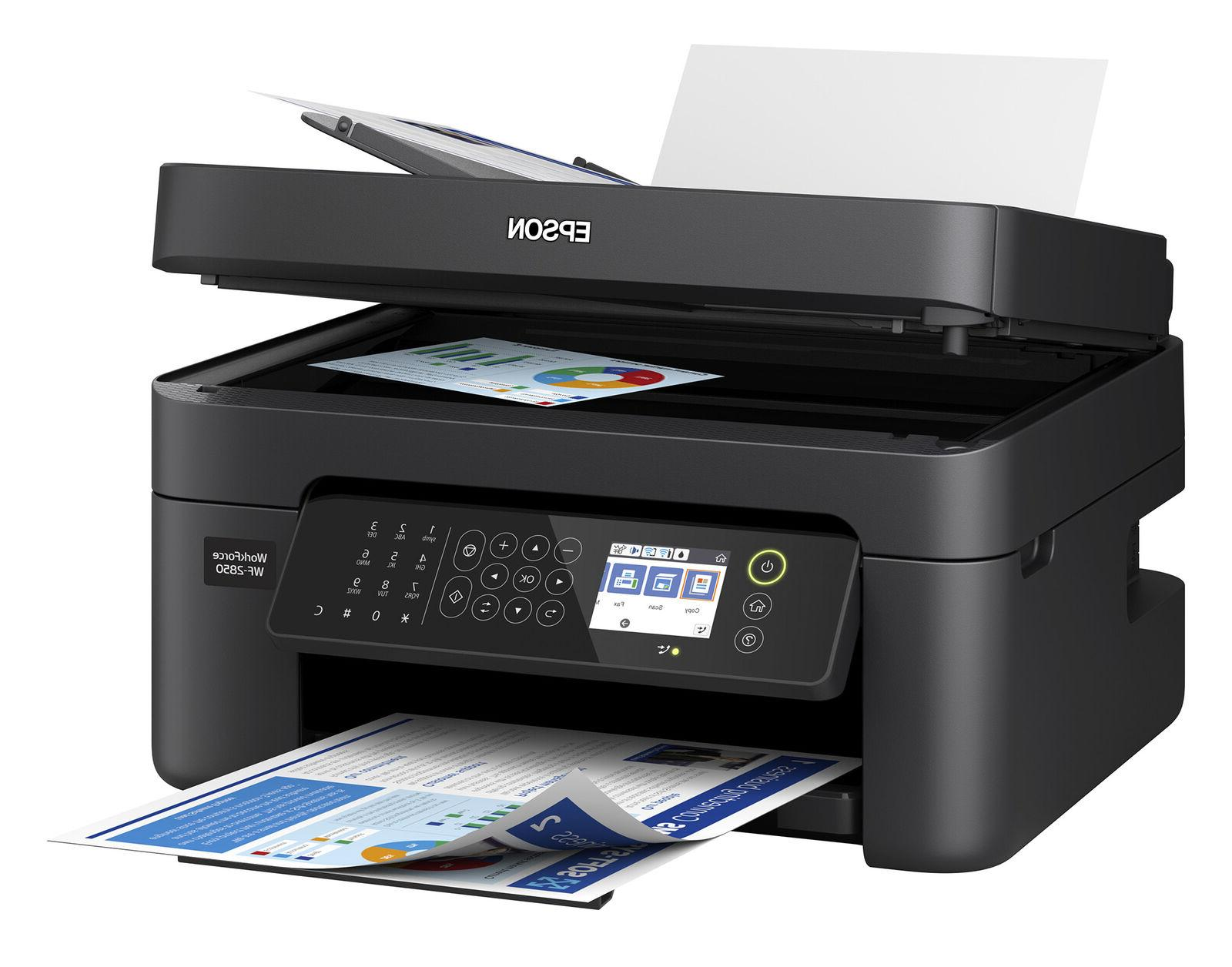 Epson Printer Machine Scan Copy Wireless Office Ink