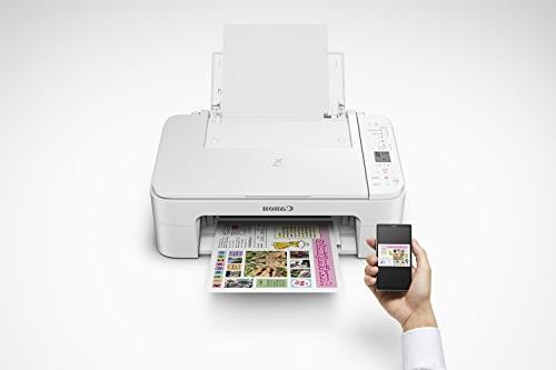 Canon TS3120 Wireless Printer, White