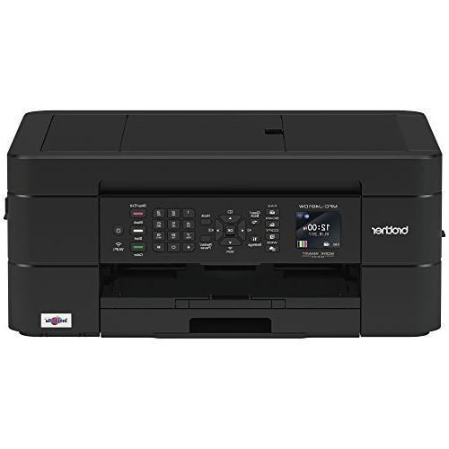 Brother Wireless Printer, MFC-J491DW, Color Printer, Printing, Mobile Printing,Amazon