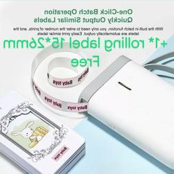 Mini Pocket Bluetooth Wireless USB Thermal Printer Paper Lab