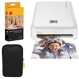 Kodak Mini2 Instant Photo Printer  Basic Bundle + Paper  + D