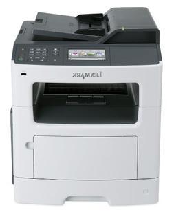 Lexmark MX417de Monochrome All-In One Laser Printer - Duplex