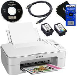 Canon PIXMA TS3120 Wireless All-in-One Inkjet Printer,White