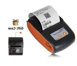 Portable Bluetooth Thermal Label Printer 58mm Wireless Recei