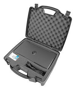 Casematix Portable Printer Carry Case Designed for HP Office