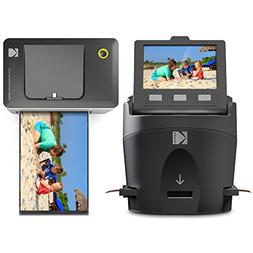 Kodak Scanza Film Scanner & Dock Printer Bundle - Scan, Save