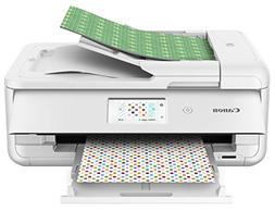 Canon TS9521C Wireless Crafting Printer, 12X12 Printing, Whi