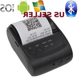 US SHIP Mini 58mm Bluetooth Wireless Mobile POS 5802DD Therm