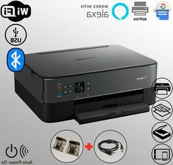 Wireless Bluetooth Printer Scanner Dual-Feed T-Shirt WiFi TS